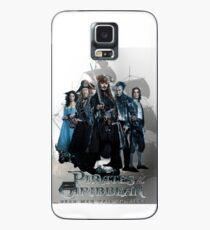 Funda/vinilo para Samsung Galaxy Piratas del Caribe