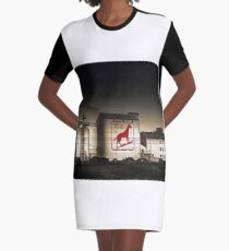 Dingo Flour Mill - Fremantle Western Australia  Graphic T-Shirt Dress
