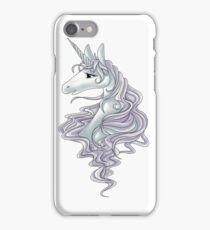 unicorn-white iPhone Case/Skin