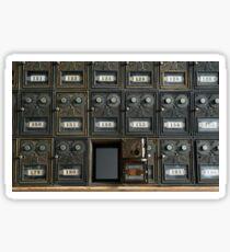 Mailboxes Sticker