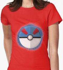 Great Ball Graphic Art Womens Fitted T-Shirt