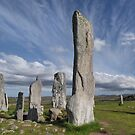 Callanish Stones and Summer Skies. Isle of Lewis. Outer Hebrides. Scotland. by PhotosEcosse