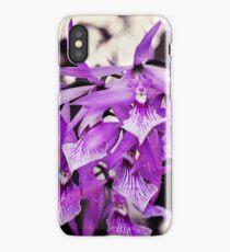 Violet Orchids iPhone Case