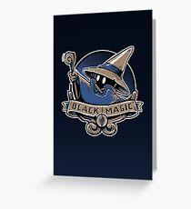 Black Magic School Greeting Card