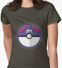 Master Ball Graphic Art Womens Fitted T-Shirt