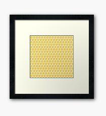 Yellow Sunshine Flower Framed Print