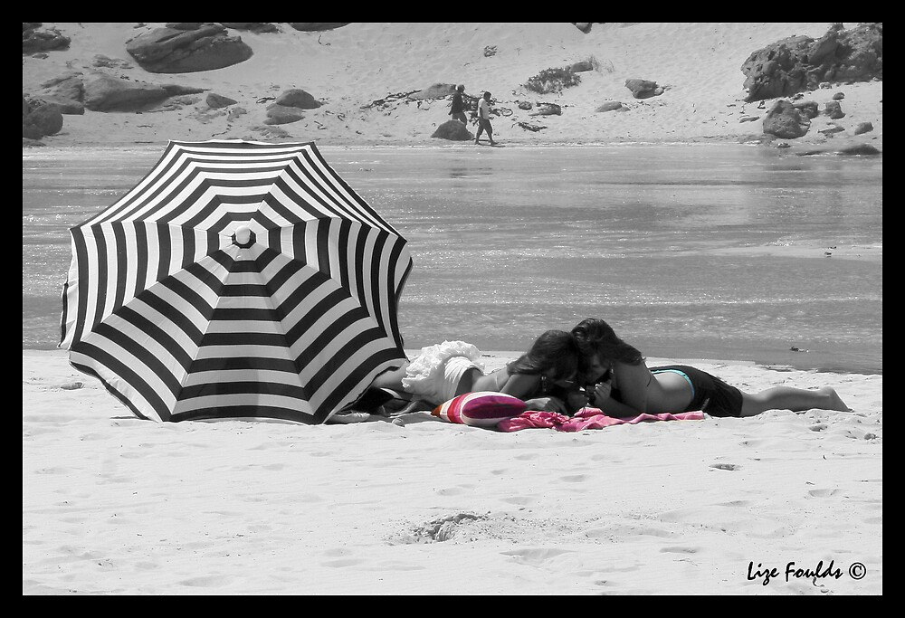 Day on the Beach by Lize Foulds