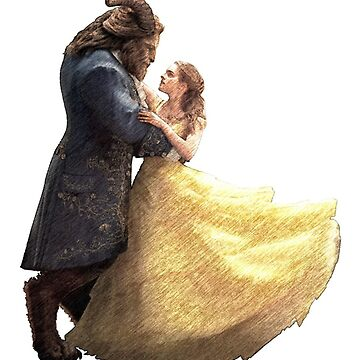 Beauty and the Beast draw by MyAwesomeBubble