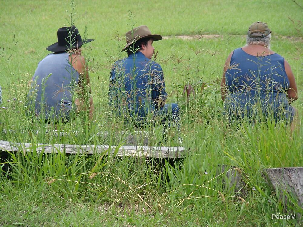three farmers by PeaceM