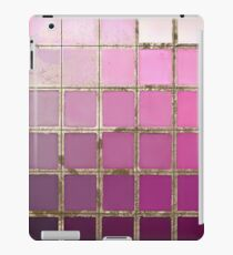 Color Chart Pink iPad Case/Skin