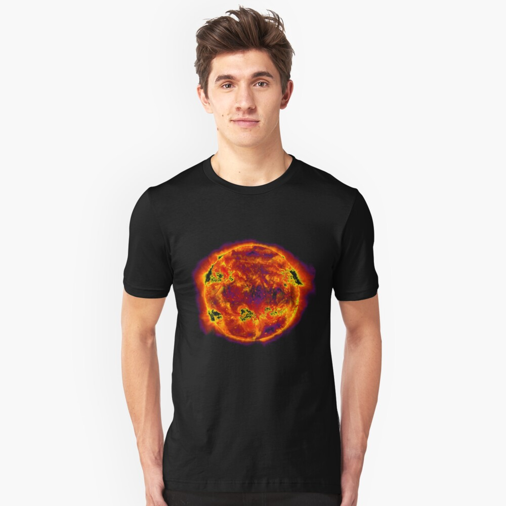 Red Sun Slim Fit T-Shirt