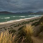 Traigh Seilebost Dunes. North Harris Hills.  Isle of Harris. Scotland. by PhotosEcosse