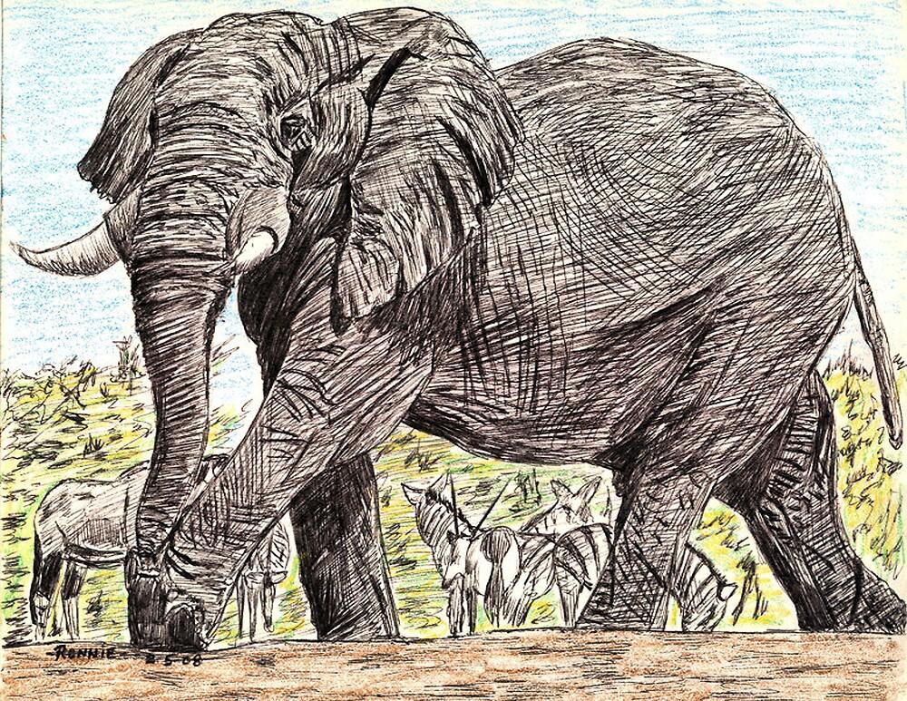 Elephant by RONNIE106