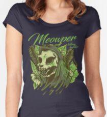Meowpower Women's Fitted Scoop T-Shirt