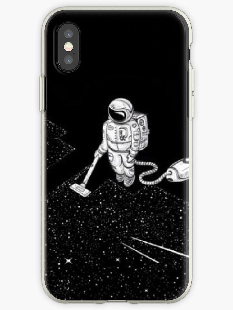 online store 50cb7 5749a 'Cool Space Guy Doing Space Thing' iPhone Case by ThiccBoi
