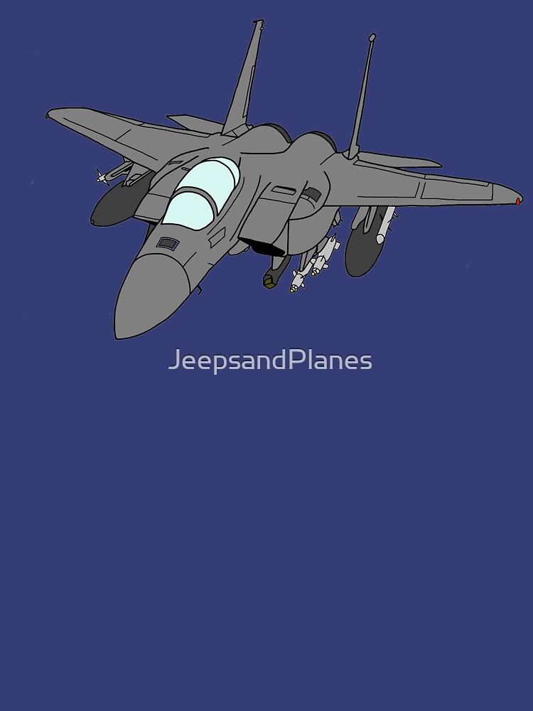 F-15E Strike Eagle by JeepsandPlanes