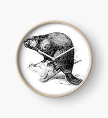 Beaver Clock