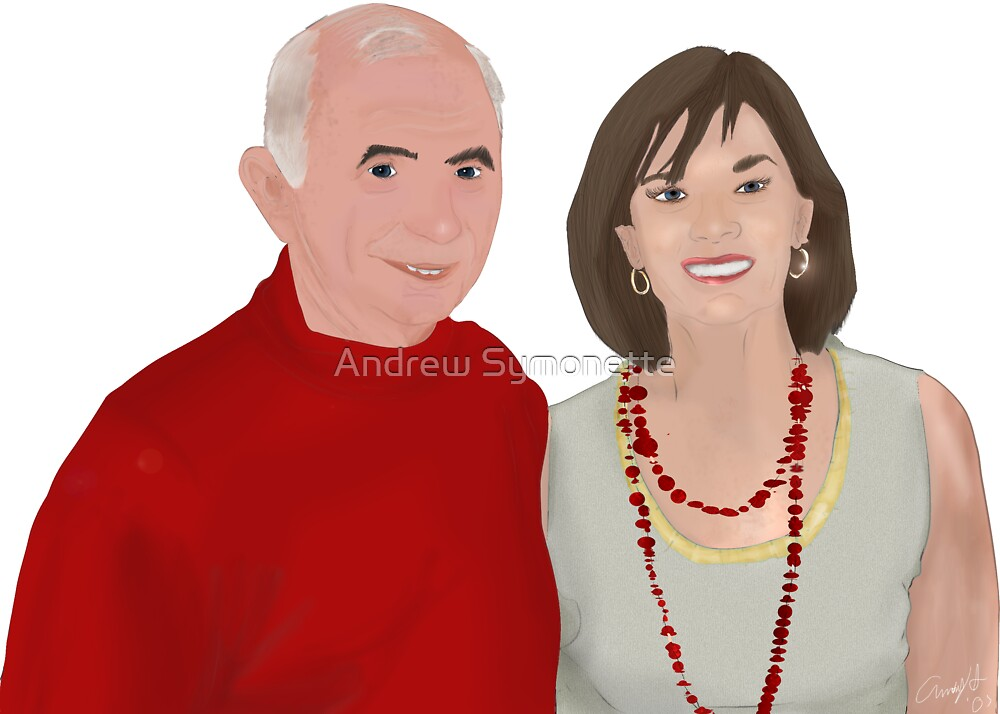 My Grandparents Drawing 2007© by Andrew Symonette
