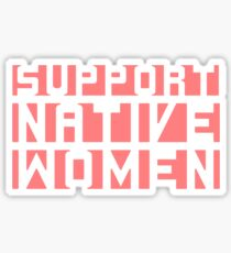 Native Women Sticker