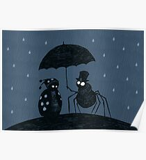 Bugs in the Rain Poster
