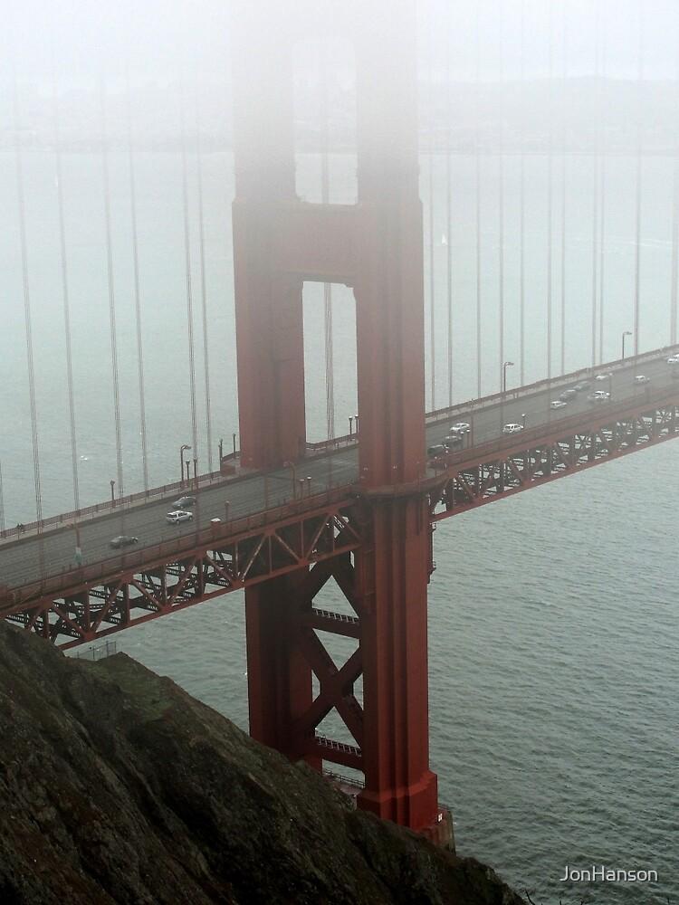 Golden Gate Fog by JonHanson