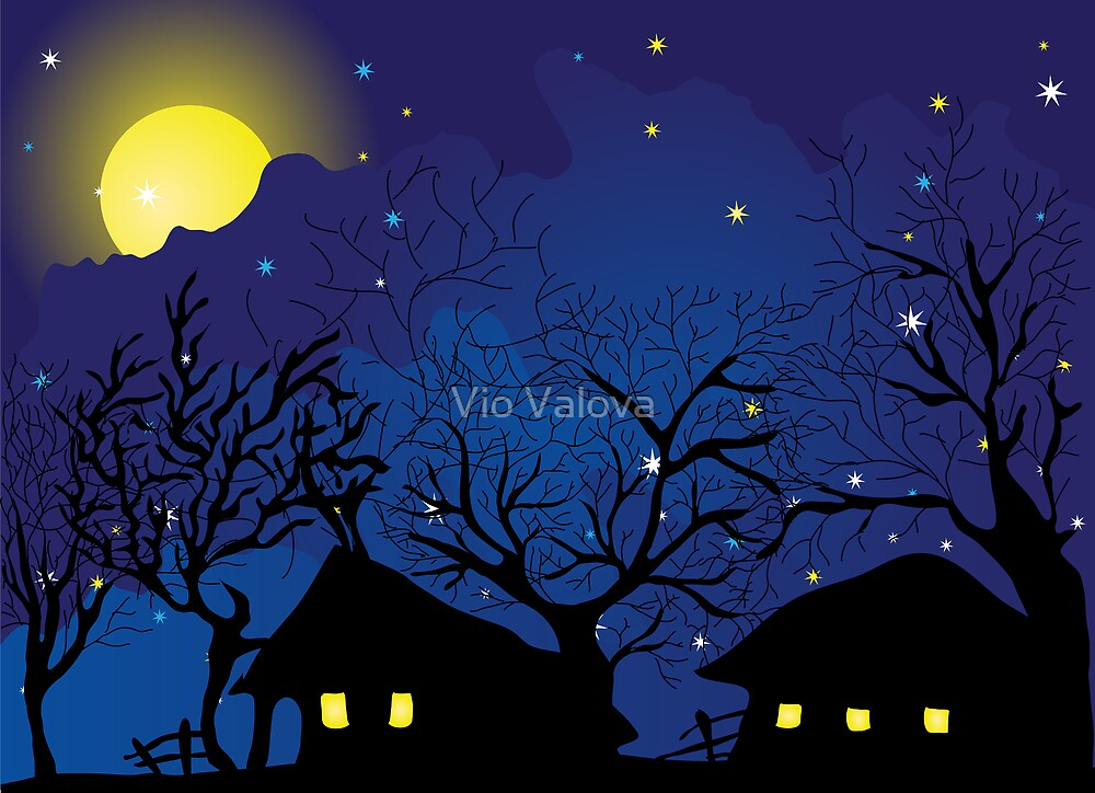 night village by VioDeSign
