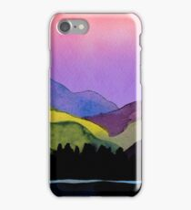 Serenity landscape 11  Watercolor  iPhone Case/Skin