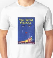 The Great Gatsby Print Unisex T-Shirt
