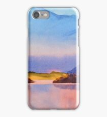 Serenity landscape 16  Watercolor  iPhone Case/Skin
