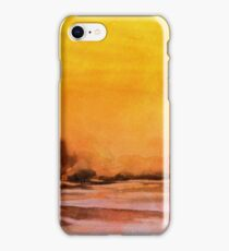 Serenity landscape 14  Watercolor  iPhone Case/Skin