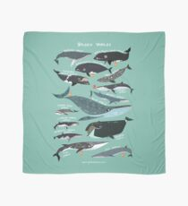 Baleen Whales Scarf