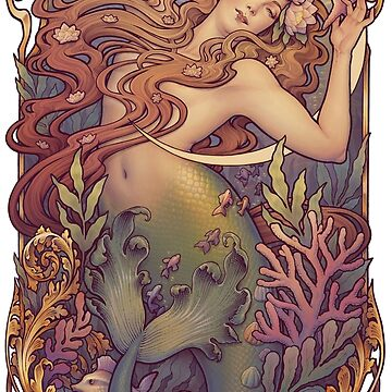 Andersen's Little Mermaid by medusadollmaker