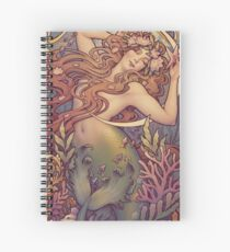 Andersen's Little Mermaid Spiral Notebook