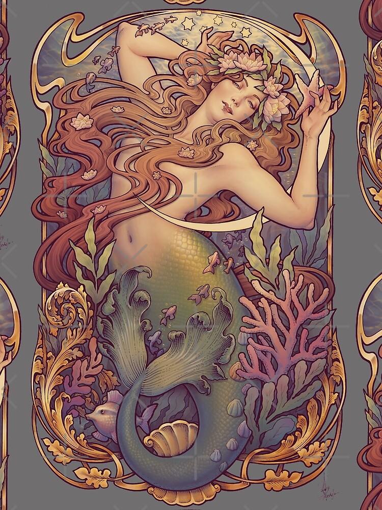 Andersens kleine Meerjungfrau von medusadollmaker