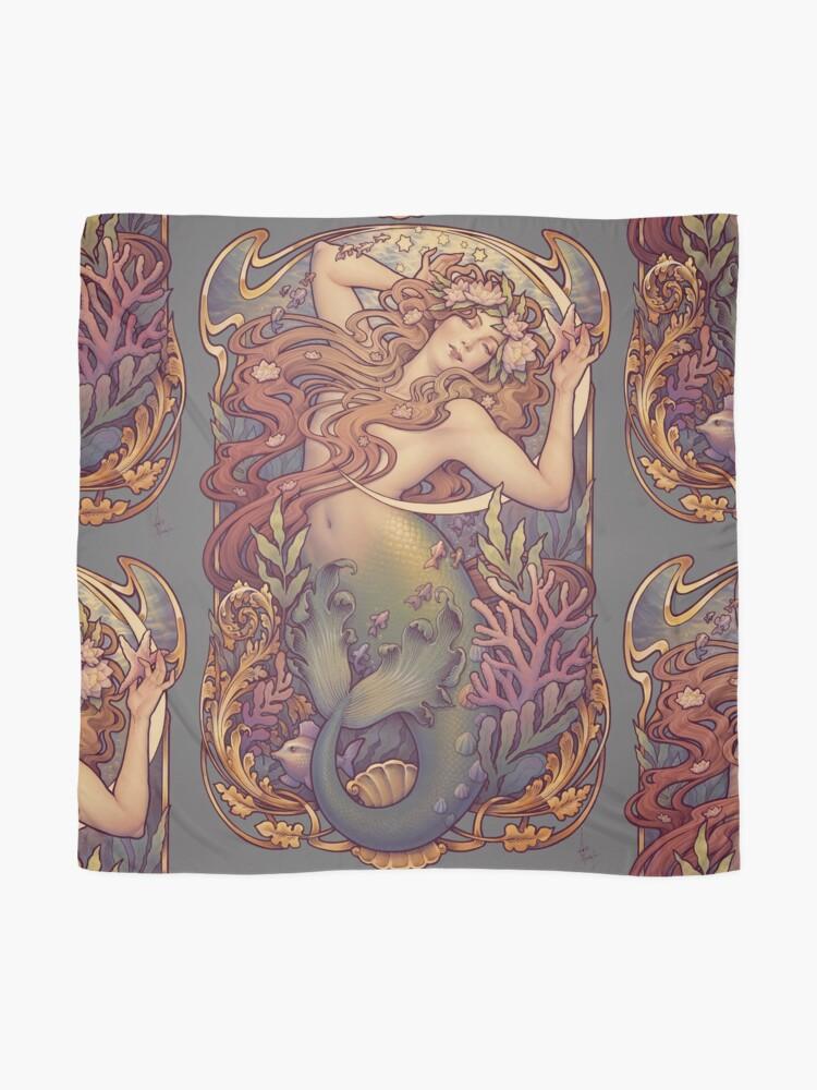 Alternative Ansicht von Andersens kleine Meerjungfrau Tuch