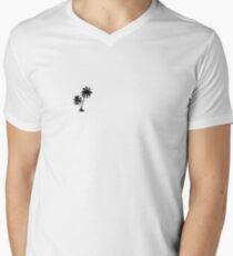 Palm Trees V-Neck T-Shirt