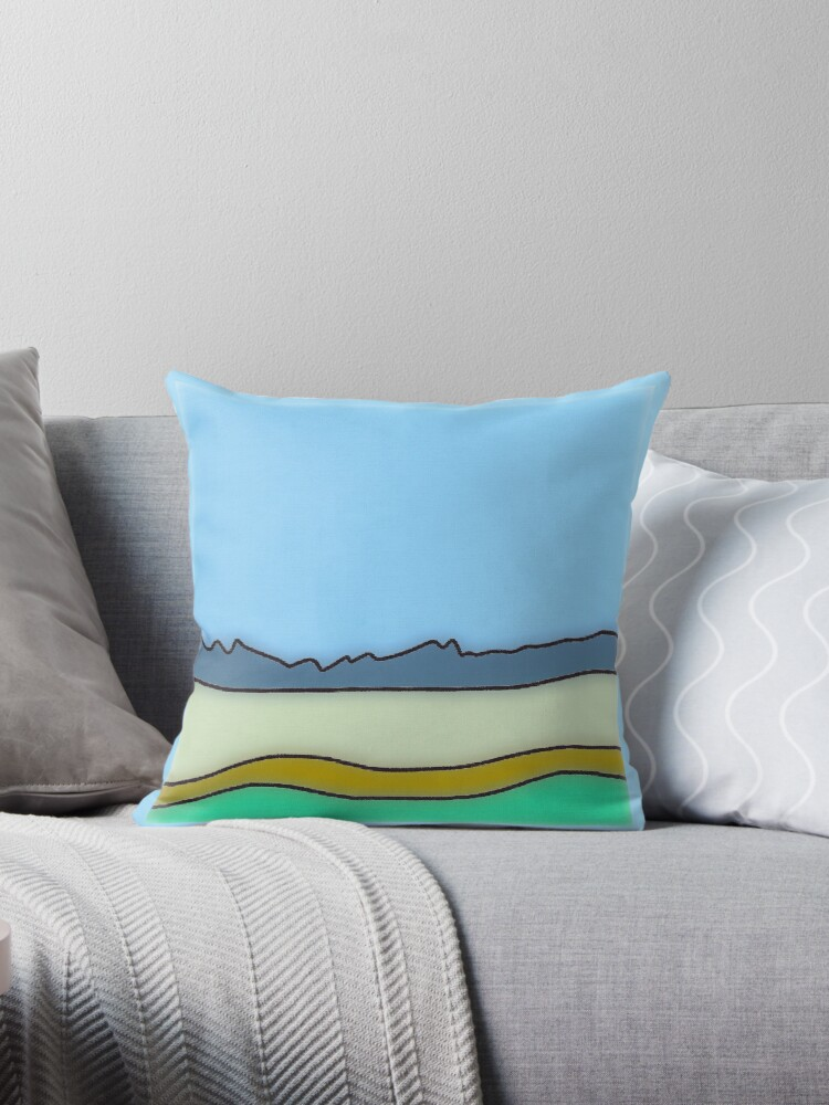 Modern nature pillows by ackelly4