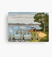 Dering Harbor, Shelter Island Canvas Print