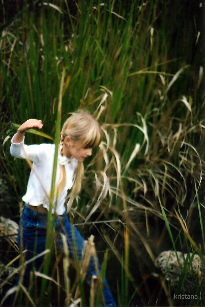 into the cat tails by kristana