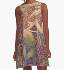 Andersen's Little Mermaid A-Line Dress