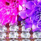 Jewelled Flower 1 by Yvonne Carsley