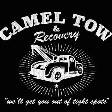 Camel Tow & Recovery shirt by alhern67
