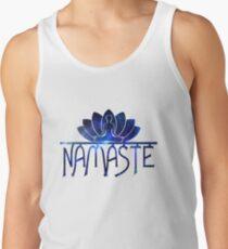 Galaxy Namaste Yoga Lotus Flower Tank Top