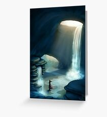 Lonely Journey Greeting Card
