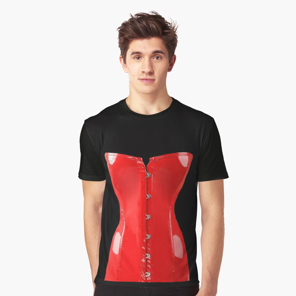Corset Graphic T-Shirt Front