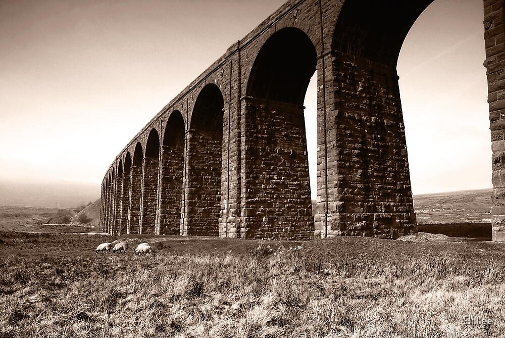 Ribble Head Viaduct by Billlee