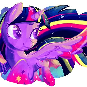 Rainbow Power Twilight by GhostlyMuse