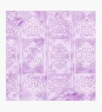 Paper in Lavender Photographic Print