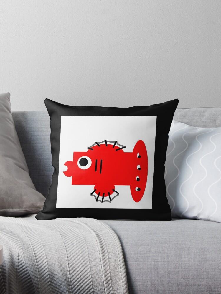 BOX FISH art, whimsy by ackelly4