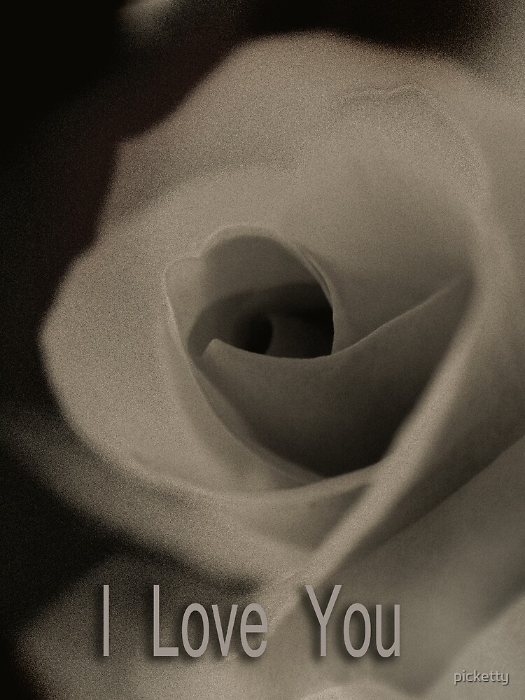 I Love You by picketty